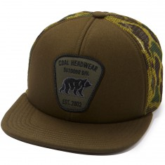 Coal The Bureau Hat - Olive/Camo