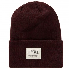 Coal The Uniform Beanie - Dark Burgundy/Marl