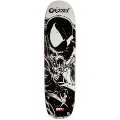 """Grizzly X Venom Pen and Ink Skateboard Deck - 8.375"""""""
