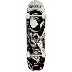 """Grizzly X Venom Pen and Ink Skateboard Complete - 8.375"""""""