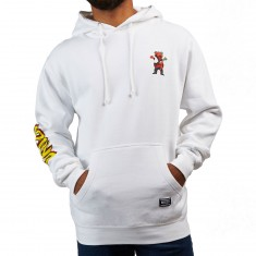 Grizzly X Spiderman Hoodie - White