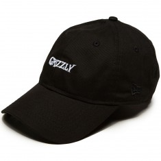 Grizzly X Venom Grin Dad Hat - Black