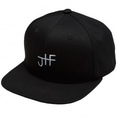 Just Have Fun Back 2 Basics Snapback Hat - Black/White