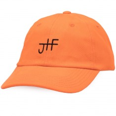 Just Have Fun Back 2 Basics Dad Hat - Orange/Black