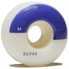 Wayward Solid State Silvas Skateboard Wheels - Grape - 51mm