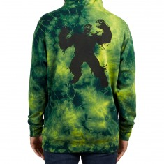 Grizzly X Hulk Electric Hoodie - Electric Tie Dye