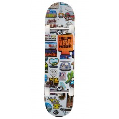 Skate Mental Magnets Plunkett Skateboard Complete - 8.125""