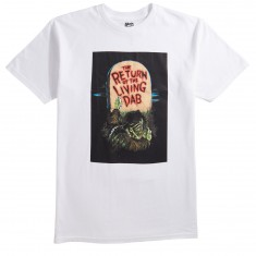 Skate Mental Return Of The Living Dab T-Shirt - White