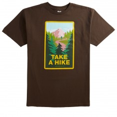 Skate Mental Take A Hike T-Shirt - Coffee