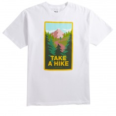 Skate Mental Take A Hike T-Shirt - White