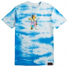 Grizzly X Adventure Time Like Your Brain And Stuff T-Shirt - Tie Dye