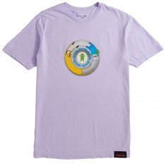 Grizzly X Adventure Time Lets Get Stupid T-Shirt - Lavender