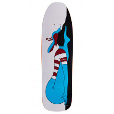 Tired Knocked Out On Stumpnose Skateboard Deck - 9.00""