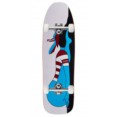 """Tired Knocked Out On Stumpnose Skateboard Complete - 9.00"""""""