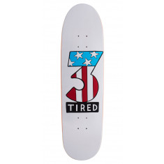 Tired Number Three On Deal Skateboard Deck - 8.75""