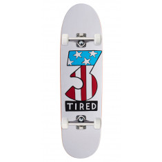 Tired Number Three On Deal Skateboard Complete - 8.75""