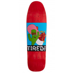 Tired Cactus Popsicle On Wanderer Skateboard Deck - 9.25""