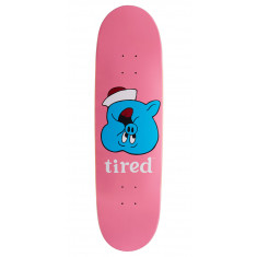 Tired Pig Upside Down Face On Joel Skateboard Deck - 8.625""