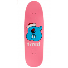 Tired Pig Upside Down Face On Sigar Skateboard Deck - 9.25""