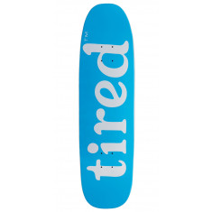 Tired Lowercase Logo On Chuck Skateboard Deck - 8.625""