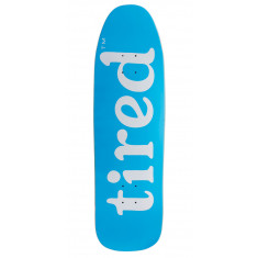 Tired Lowercase Logo On Stumpnose Skateboard Deck - 9.00""