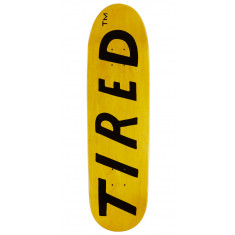 Tired Lowercase Logo On Deal Skateboard Deck - 8.75""
