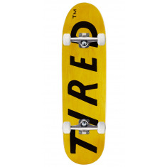 Tired Lowercase Logo On Deal Skateboard Complete - 8.75""