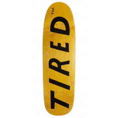 Tired Lowercase Logo On Sigar Skateboard Deck - 9.25""