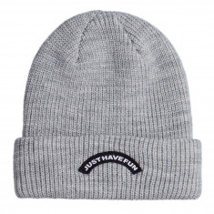Just Have Fun Arched Beanie - Grey