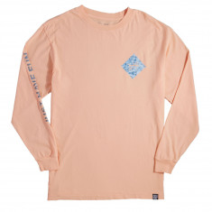 Just Have Fun All Caps Long Sleeve T-Shirt - Peach
