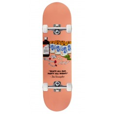 Skate Mental Party All Night Skateboard Complete - Tom K - 8.25""