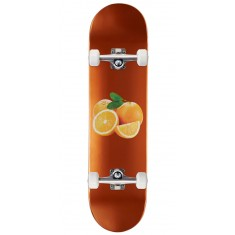 Skate Mental Orange Skateboard Complete - Wieger - 8.00""