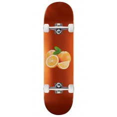 Skate Mental Orange Skateboard Complete - Wieger - 8.25""