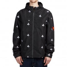 Grizzly X BLVCK Waterproof Jacket - Black