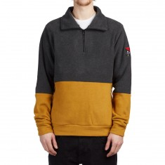 Grizzly X BLVCK Half Zip Sweatshirt - Black