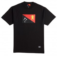 Grizzly X BLVCK Flag T-Shirt - Black