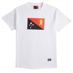 Grizzly X BLVCK Flag T-Shirt - White