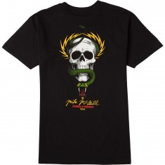 Powell-Peralta McGill Skull And Snake T-Shirt - Black