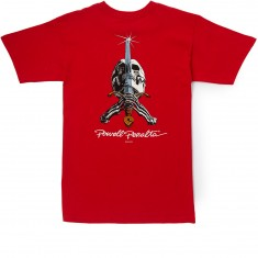 Powell-Peralta Skull And Sword T-Shirt - Red