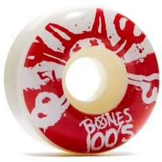 Bones 100's #10 Skateboard Wheels - White - 100a - 51mm