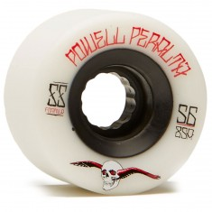 Powell Peralta G-Slides Longboard Wheels - White - 56mm 85a