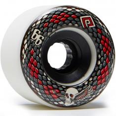 Powell Peralta Snakes Longboard Wheels - White - 66mm 75a