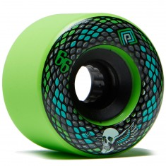 Powell Peralta Snakes Longboard Wheels - Green - 69mm 75a