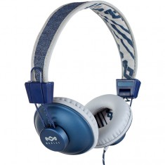 House Of Marley Positive Vibration BT Headphones - Denim