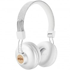 House of Marley Positive Vibration BT Headphones - Silver