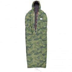 Poler The Shaggy Napsack - Green Furry Camo