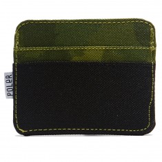 Poler Card Holder Wallet - Green Furry Camo