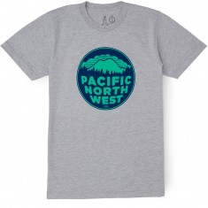 Casual Industrees PNW 2 Color T-Shirt - Heather Grey