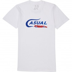 Casual Industrees Lambo Text T-Shirt - White
