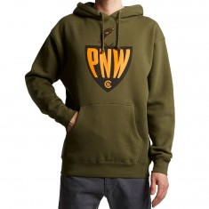 Casual Industrees PNW Fisherman Hoodie - Army Green